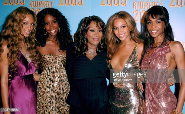 Solange Knowles Kelly Rowland Patti LaBelle Beyonce Knowles and Michelle Williams