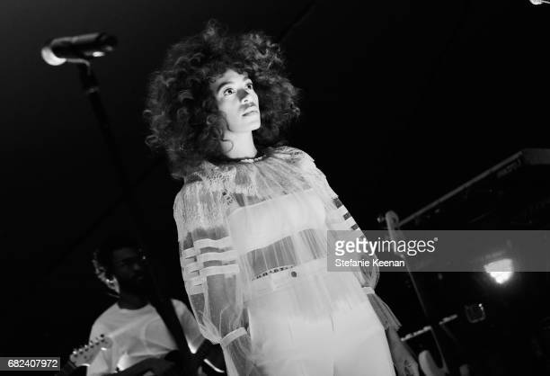 Solange Knowles performs at Christian Dior Cruise 2018 Show and After Party at Gladstone's Malibu on May 11 2017 in Malibu California