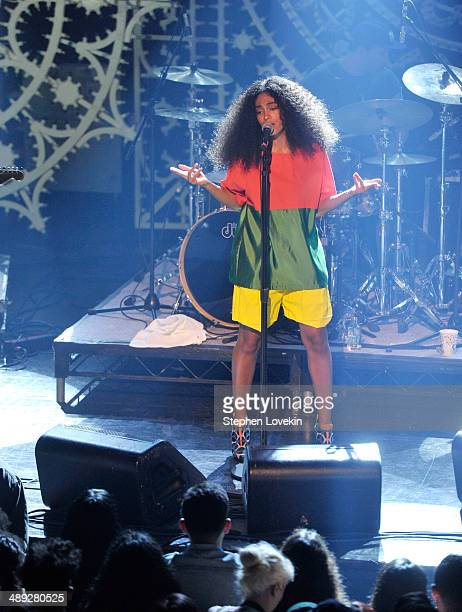 Solange Knowles performs onstage at the Vulture Festival Presents MIA Solange at Webster Hall on May 10 2014 in New York City