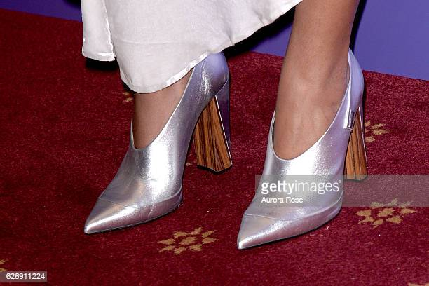 Solange Knowles shoe detail at Alvin Ailey American Dance Theater Opening Night Gala Benefit 'An Evening of Ailey and Jazz' at New York City Center...