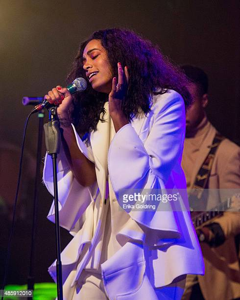 Solange performs at House of Blues on August 29 2015 in New Orleans Louisiana