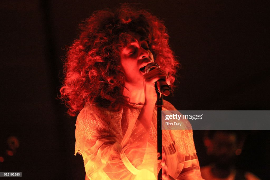 Solange performs at the Christian Dior Cruise 2018 Runway Show at the Upper Las Virgenes Canyon Open Space Preserve on May 11, 2017 in Santa Monica, California.