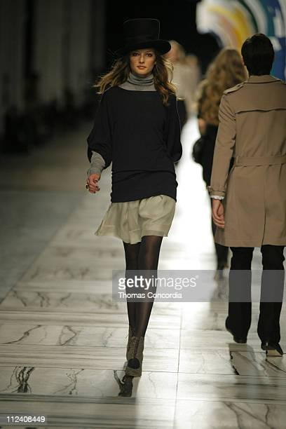 Solange Wilvert wearing 3.1 Phillip Lim Fall 2007 during Mercedes-Benz Fashion Week Fall 2007 - 3.1 Phillip Lim - Runway at Waterfront Building in...