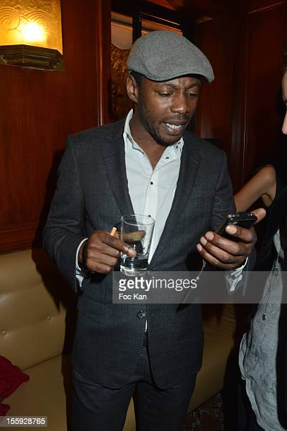 Solar attends the 'Prix De Flore 2012' Literary Award Ceremony Party at the Cafe de Flore on November 8 2012 in Paris France