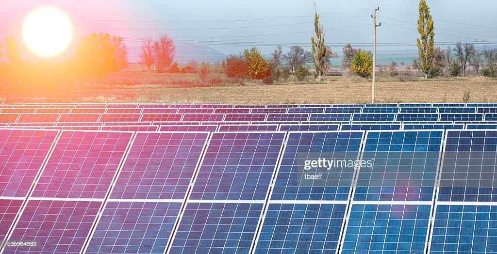 solar cells : Stock Photo