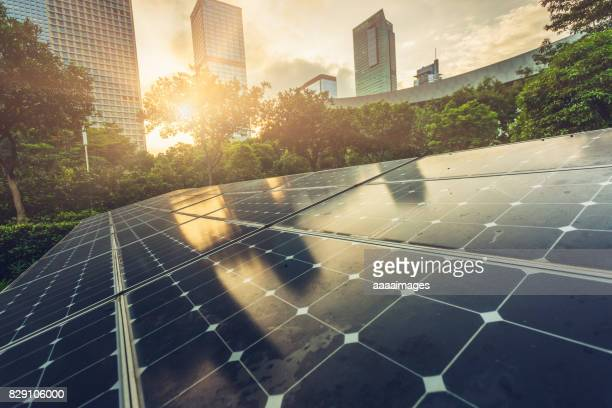 solar city - solar energy stock pictures, royalty-free photos & images