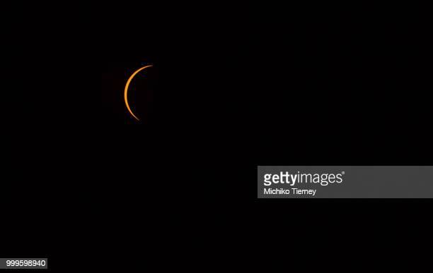 Solar eclipse progression