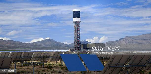 solar electric generating system - timothy hearsum stockfoto's en -beelden