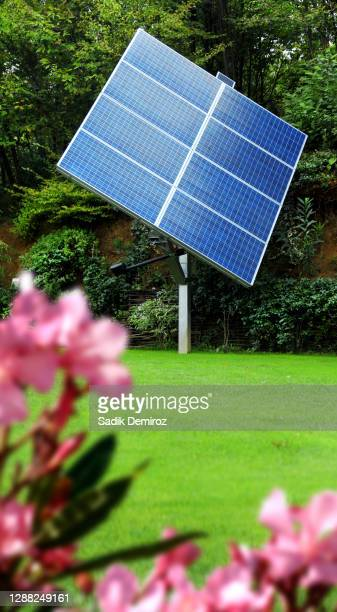 solar energy panel - solar energy dish stock pictures, royalty-free photos & images