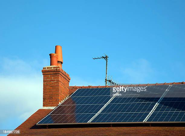 solar energy - solar panels stock photos and pictures