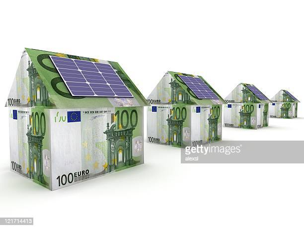 Solar energy saving - Euro