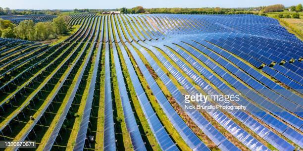 solar energy, silkeborg, denmark - denmark stock pictures, royalty-free photos & images