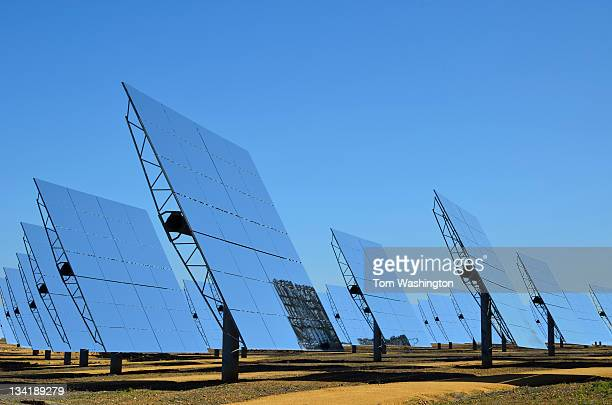 solar field - solar panels stock photos and pictures