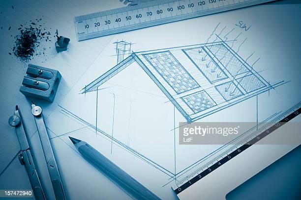 Solar house-design