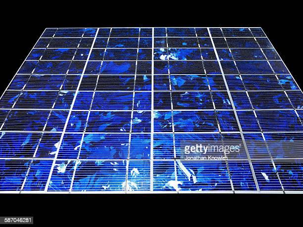 Solar panel, close up