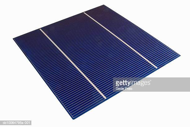 Solar panel, elevated view