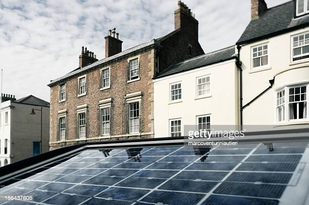 Solar panel energy and homes