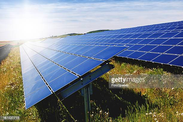 solar panel - responsible business stock photos and pictures