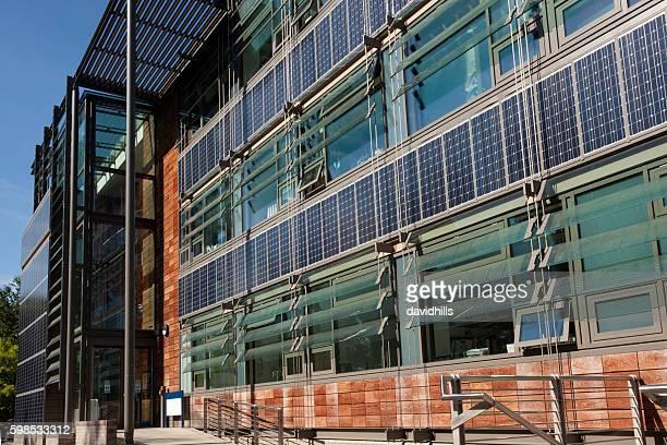 Solar panel-Gebäude