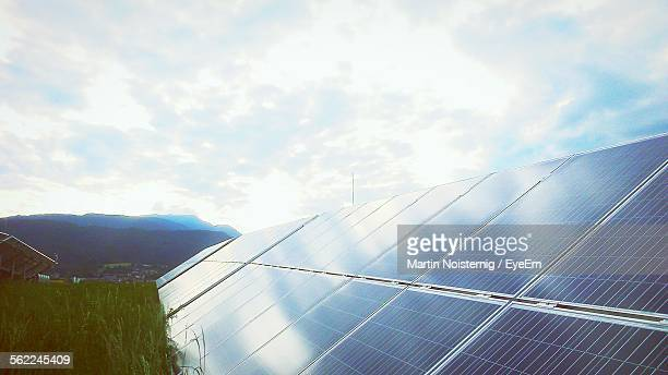 Solar Panels Against Sky
