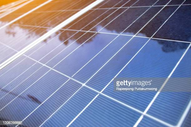 solar panels energy production plant outdoor. alternative clean green energy concept - solar energy stock pictures, royalty-free photos & images
