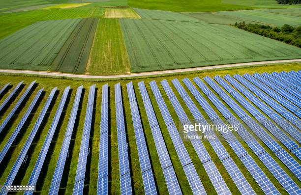 solar panels - image stock-fotos und bilder