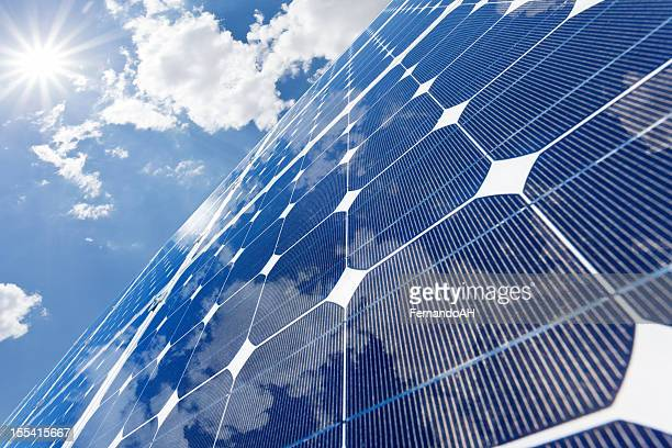 solar panels - solar panels stock photos and pictures