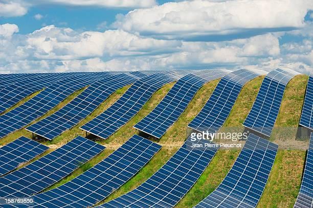 Solar panels, Provence, France