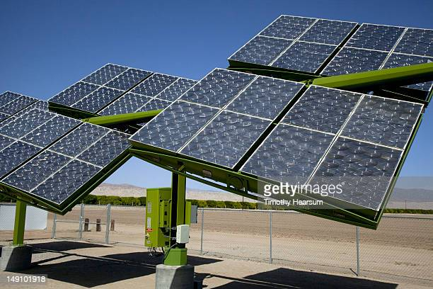 solar panels used for agricultural purposes - timothy hearsum stock-fotos und bilder