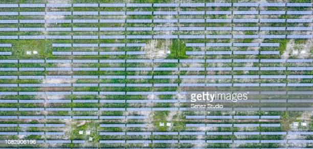 solar plant - steuerpult stock-fotos und bilder
