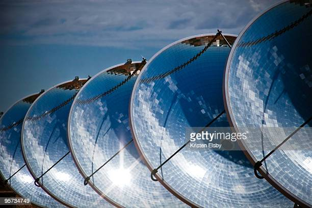 Solar power dishes