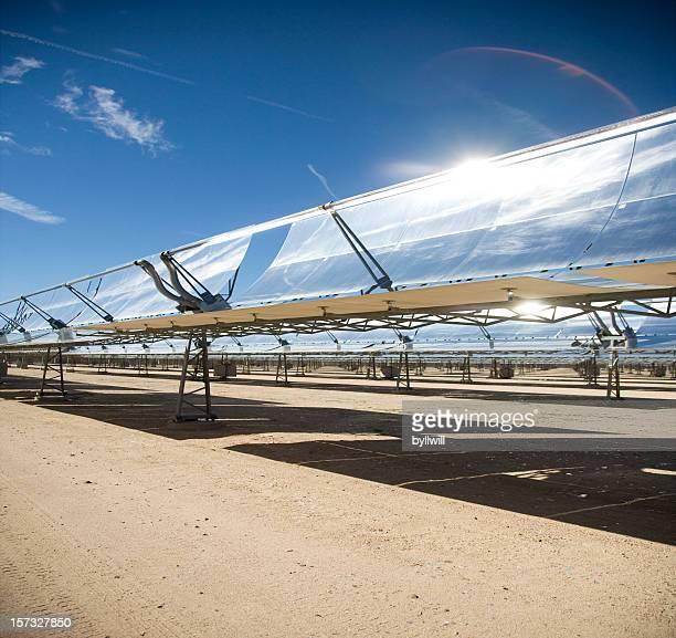 Campo di energia solare