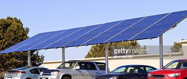 Solar powered panel
