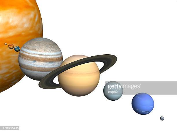 solar system - solar system stock photos and pictures