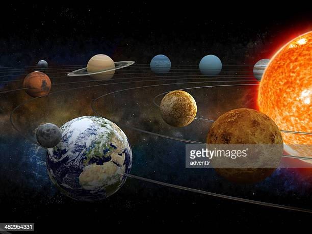 solar system - space exploration stock pictures, royalty-free photos & images