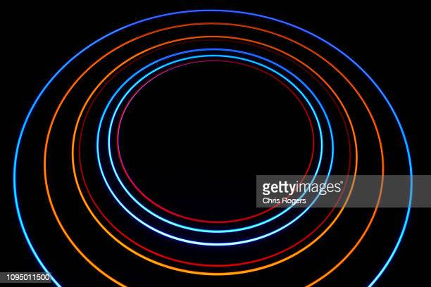 solar system rendering - orbiting stock pictures, royalty-free photos & images