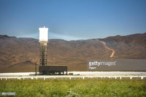 Solar thermal generating plant for renewable energy