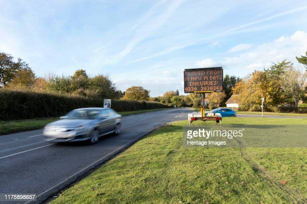 Solar Variable Message Temporary Road Sign 2016