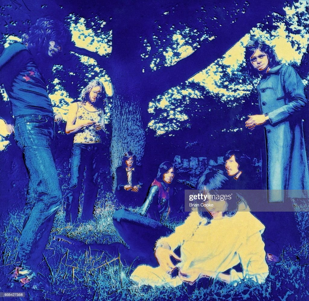 Solarised photograph of the Alan Bown Set : News Photo