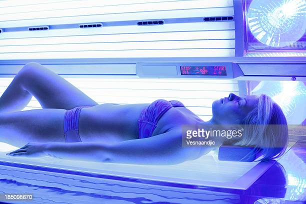 Solarium beauty treatment