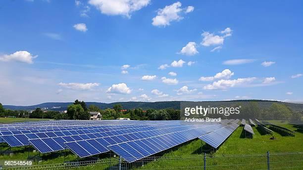 Solarpark Nussloch, third biggest solar park in Baden-Wuerttemberg. 5.000 KW.