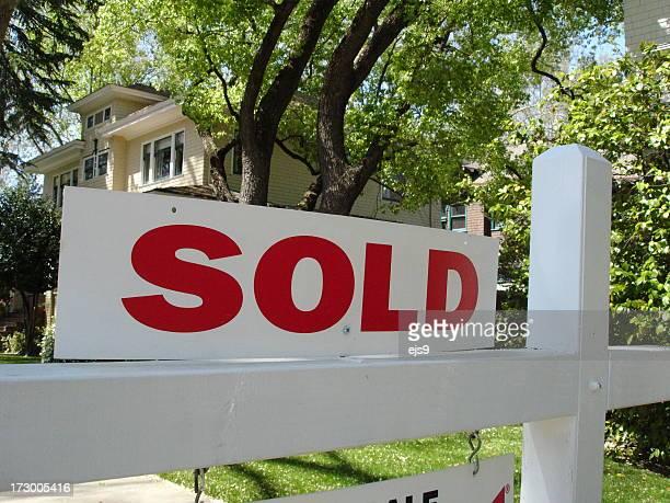 Signe immobilier vendu en Californie et mansion house chez vous