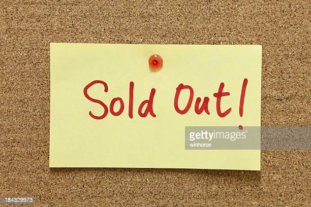 sold out - sold out stock pictures, royalty-free photos & images