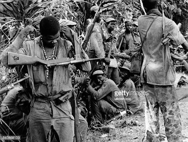 Soldaten der Biafra Armee- 1969