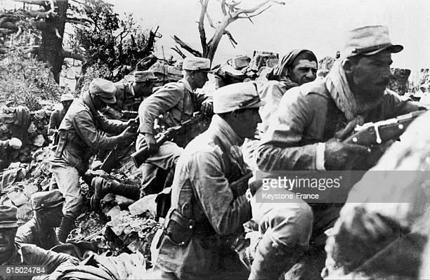 Soldats de la Légion étrangère en action