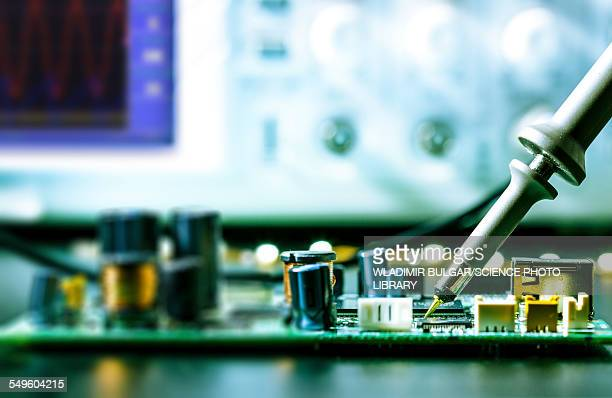 Soldering an circuit board