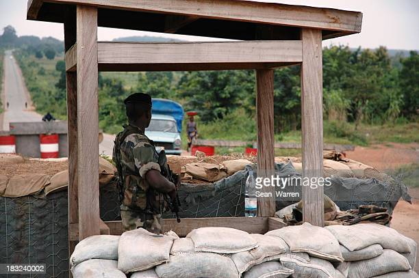 Soldier At Border