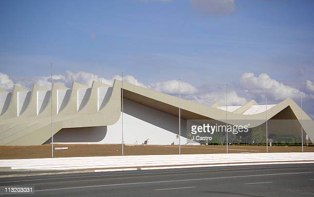 soldier auditorium - brasilia stock pictures, royalty-free photos & images