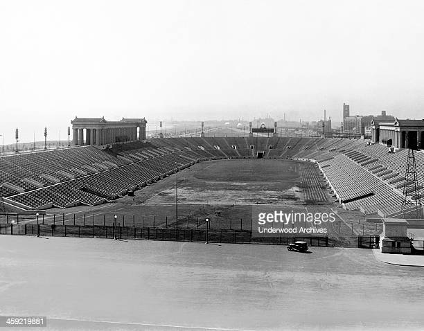 Soldier Field, Chicago, Illinois, circa 1925.