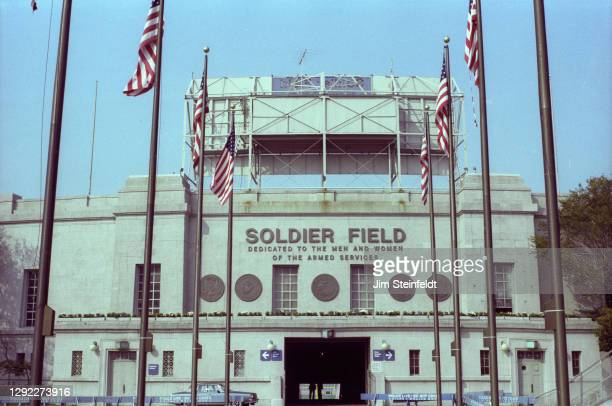 Soldier Field in Chicago, Illinois on October 2, 1981.